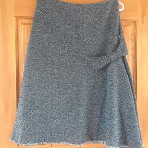 ANTHROPOLOGIE ELEVENSES TWEED Skirt 2 (small)